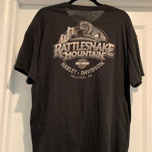Men's Harley Davidson Black T-shirt XL